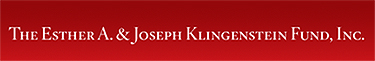 The Klingerstein Fund