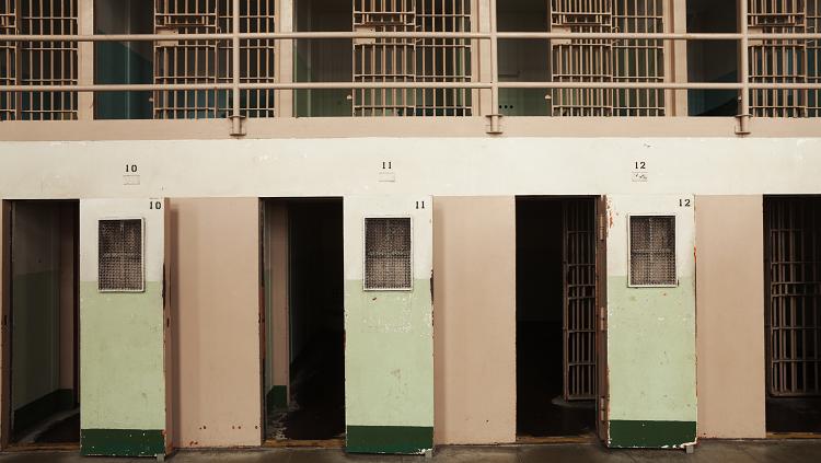 Photograh of jail cells